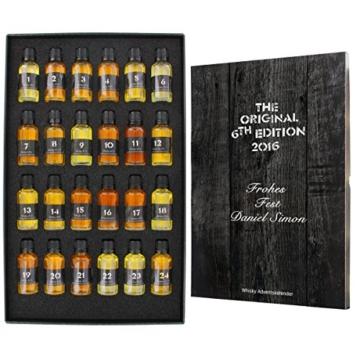 Whisky-World Adventskalender mit Ihrer individuellen Gravur -